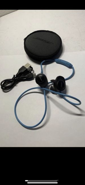 Genuine USED Bose SoundSport Wireless Neckband Wireless Headphones -Aqua $50 firm for Sale in Irvine, CA
