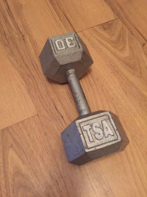 30 lbs dumbbell for Sale in Boca Raton, FL