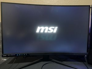 MSI Optix MAG27C Curved Gaming Monitor for Sale in Los Angeles, CA