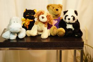 4 clean and very cite stuffed animals. for Sale in Tamarac, FL