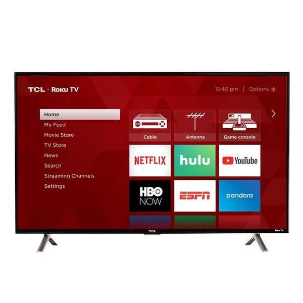 """TCL 32"""" Roku HD LED Smart TV (32S325) Brand new in box. Price is firm. Highlights The ultimate Smart TV with HDR for your home Roku TV featuring"""