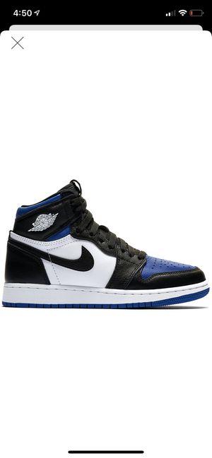 Jordan 1 Royal Toe Size 6.5Y for Sale in NO POTOMAC, MD