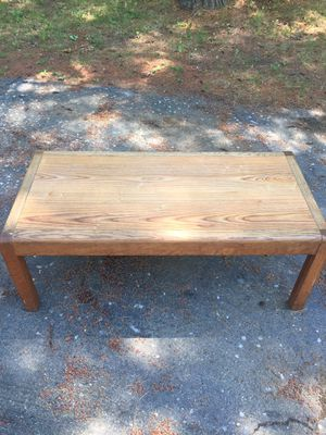 Wood table for Sale in Sanford, ME