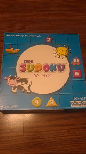 My First Sudoku (Ages 4-10) for Sale in New Lenox, IL