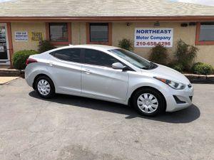 2016 Hyundai Elantra for Sale in Universal City, TX