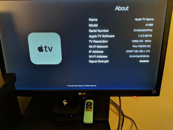 Apple TV -3rd generation. Model # A1469