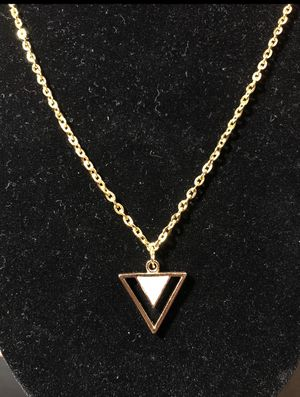 Triangle Pendant Necklace for Sale in Lake Forest, CA