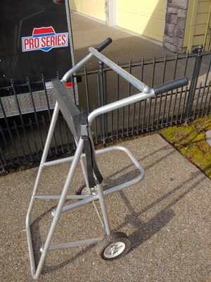 Garelick Outboard Motor Carrier stand with wheels for Sale in Beaverton, OR