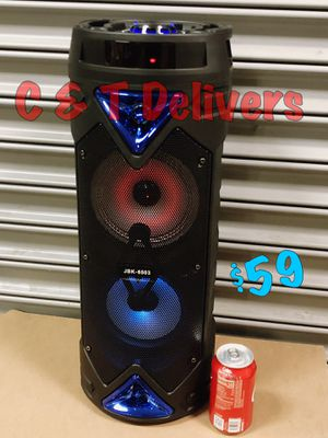 Bocina Bluetooth Con Bass • Torre Con 🎤 Incluido • Recargable Y Portatil for Sale in Gardena, CA