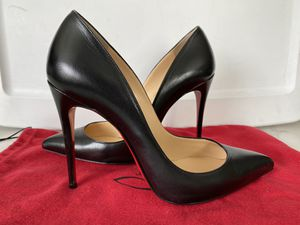 Christian Loboutin Leather Pointed-Toe Pump Pigalle Follies 100 for Sale in Pasadena, CA