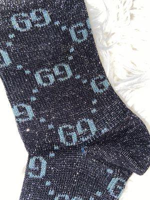 Black sparkly Gucci socks new for Sale in Greensboro, NC