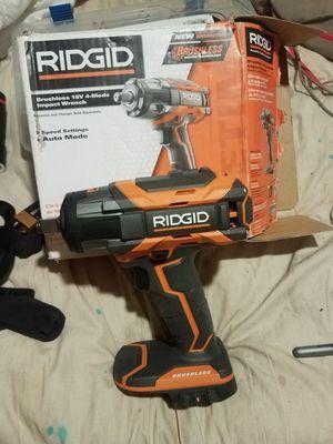☆ BRAND NEW ☆ RIDGID BRUSHLESS 18V IMPACT New-$139 NOW-$70 for Sale in Tucson, AZ