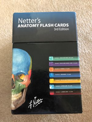 Netter's Anatomy Flash cards for Sale in Boston, MA