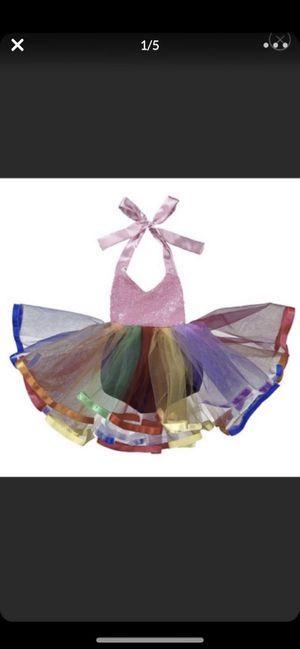 Rainbow tutu dress for Sale in Houston, TX