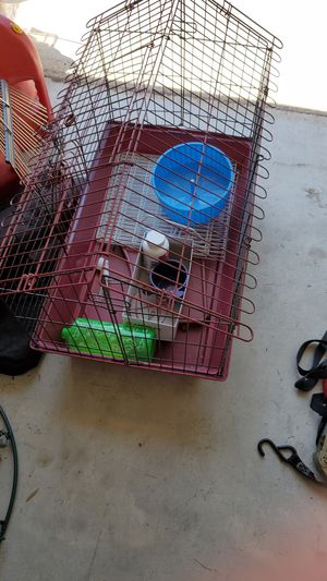 Small cage for animals free for Sale in League City, TX