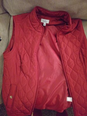 New Womens size M Croft&Barrow quilted vest for Sale in Tulsa, OK
