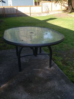 Glass Table for Sale in Bellevue,  WA