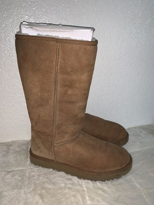 Tall chestnut uggs for Sale in Fresno, CA