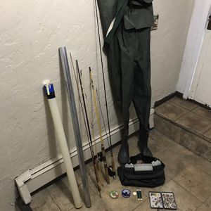 Lot Fly Fishing Gears Used In Good Condition for Sale in Boston, MA