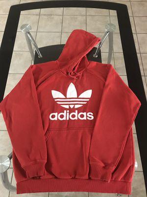 Adidas Original Men's Hoodie Fleece Size XL Red Drawstring Hood for Sale in Avondale, AZ