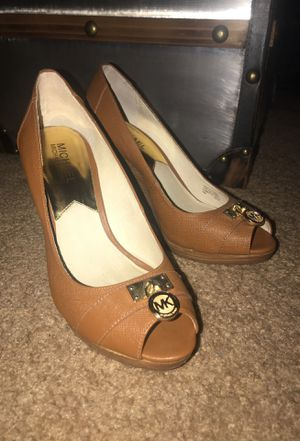 Michael Kors Peep Toes Wedges for Sale in Fresno, CA