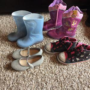 Girls size 10 shoe lot for Sale in El Cajon, CA