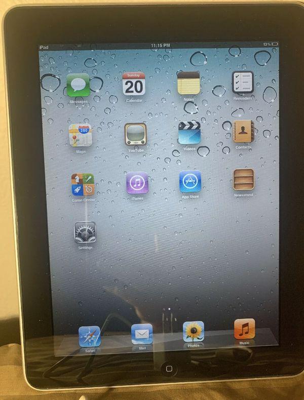iPad 1st Generation Black 16GB