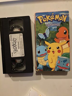 Pokemon Pokefriends vhs with cover for Sale in St. Louis, MO