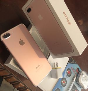 Like new iPhone 7 Plus 128GB AT&T/cricket with accessories super clean!!! for Sale in Stockton, CA