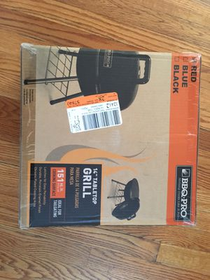 Bbq Pro 14' Tabletop Grill for Sale in Hackensack, NJ