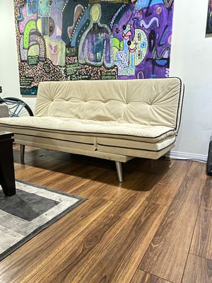 3 way futon sofa bed. Hardly used!! Best offer takes if for Sale in Los Angeles, CA