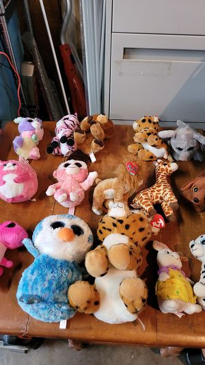 15 ty beanie babies all for $15 for Sale in Kent, WA