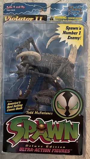 Vintage McFarlane Toys 1995 Spawn Violator II Deluxe Edition Ultra-Action Figure MOC for Sale in Santa Ana, CA