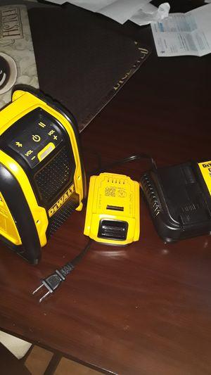 New dewalt radio chárger baterry for Sale in Peoria, IL