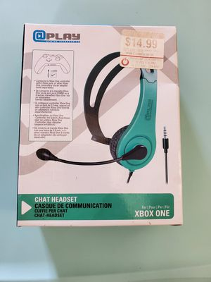 XBOX One Chat Headset Headphones for Sale in Oceanside, CA
