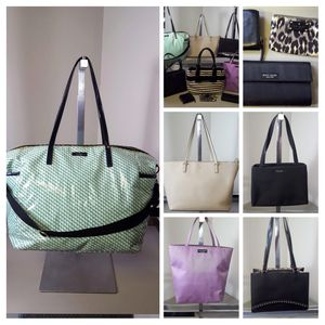 Lot of Kate Spade 6 Handbags and 3 Wallets for Sale in Kenosha, WI