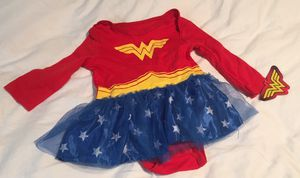 New Wonder woman Halloween costume 6 to 9 months for Sale in Boca Raton, FL