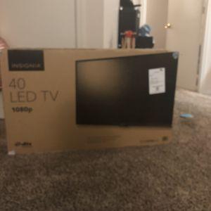 Insignia Tv 40 Inch for Sale in Broomfield, CO