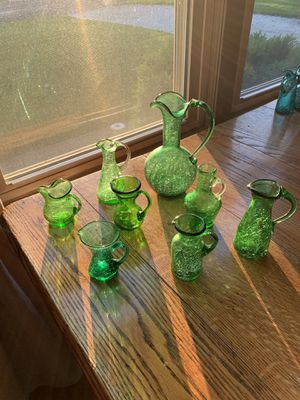 Crackle glass for Sale in Peoria, IL