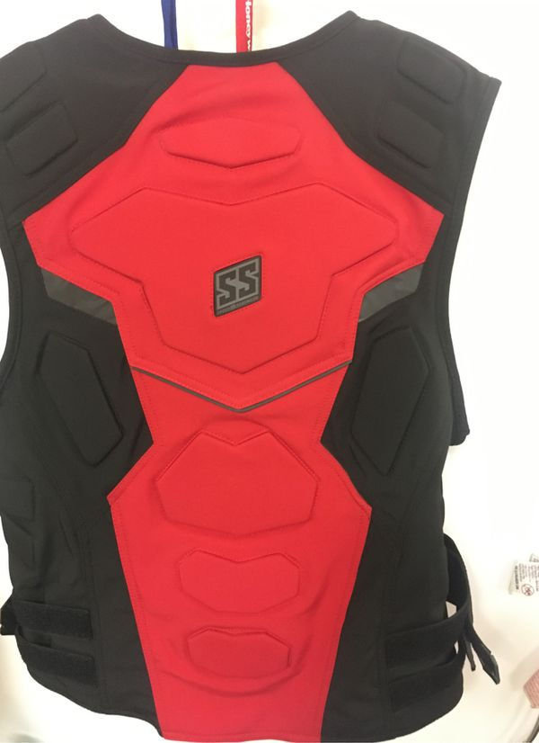 SS speed and strength motorcycle vest/ Large