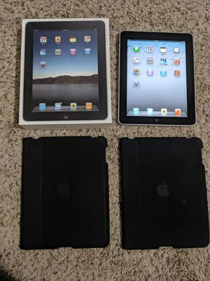 2 Apple iPads - first generation - 32gb - Silver for Sale in West Nyack, NY