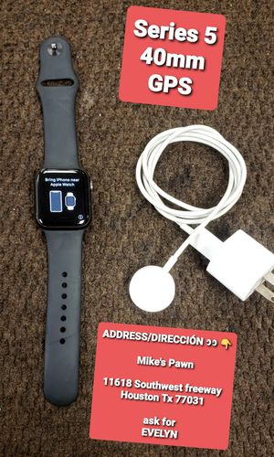 Apple watch Series 5 40mm GPS for Sale in Houston, TX
