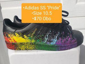 "Men Adidas Superstar ""Pride"" (2016) Size 10.5 $70 Obo for Sale in Winter Haven, FL"