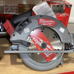 Brand New Milwaukee 7-1/4 Circular With Battery And Charger Only Asking $300 for Sale in La Habra Heights, CA