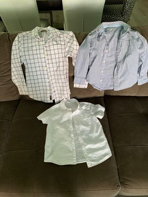 Size 4-5 dress shirts for boys for Sale in West Palm Beach, FL