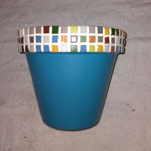 """8"""" Decorated Flower Pots for Sale in Mesa, AZ"""