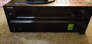 Onkyo receiver and bose acoustimass home theater speaker system for Sale in Greenbelt, MD