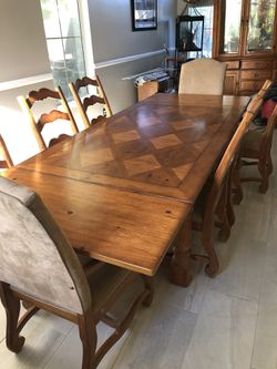 Dining room table and china hutch for Sale in Brea,  CA