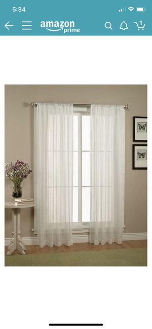 Sheer curtains for Sale in Harrisonburg, VA