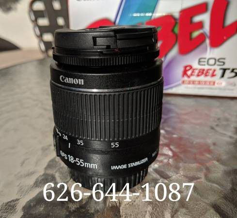 Canon Rebel EOS T5 DSLR camera